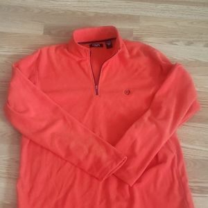 Chaps Quarter zip fleece pullover size XL